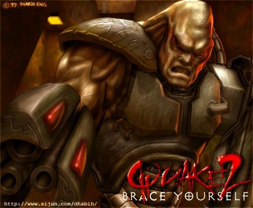 Quake 2 Concept Art
