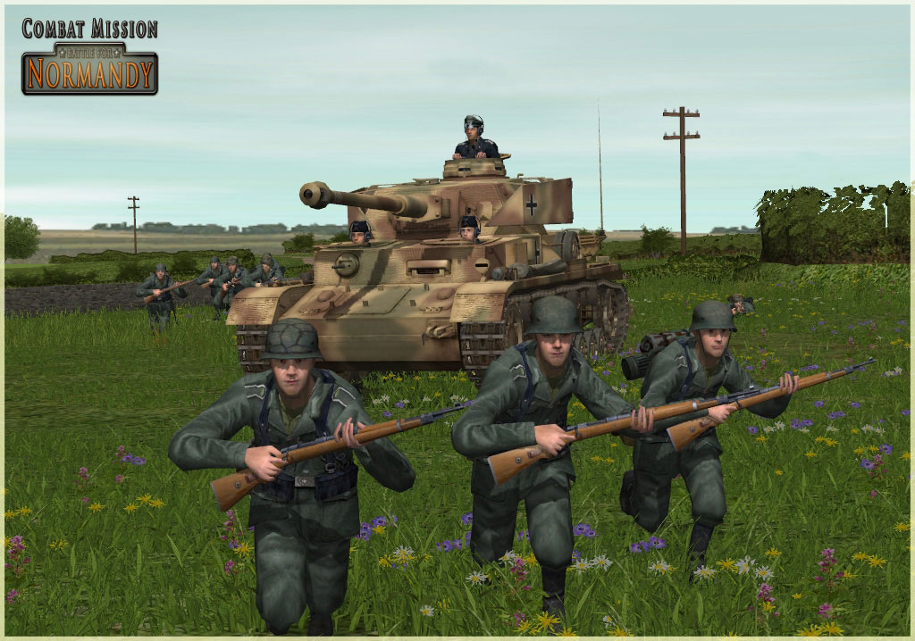 Combat Mission: Battle for Normandy Screenshots - Blue's News