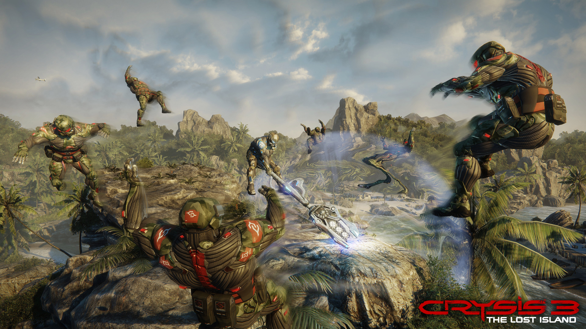 Дополнение The Lost Island для Crysis 3.