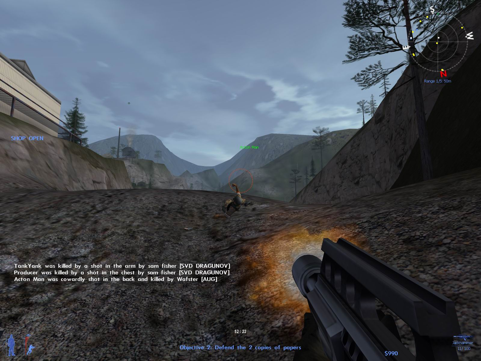 Description: Shots showing off multiplayer action in IGI 2: Covert Strike, Innerloop's upcoming shooter sequel