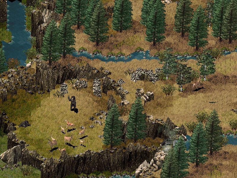 Впервые, насколько я помню, в игровом мире появился экономический симулятор крепости. .  Разработчик игры, компания.