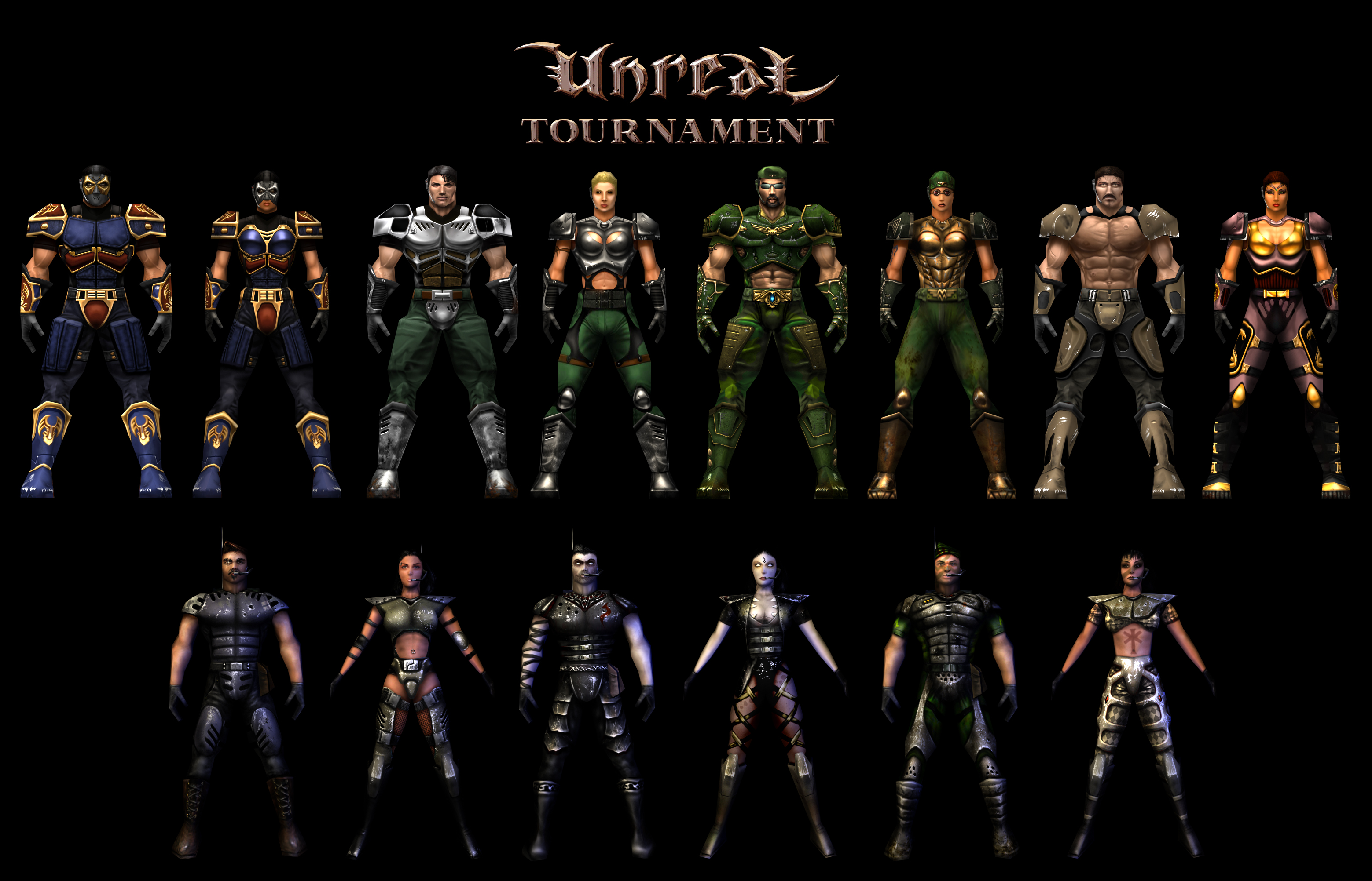 Unreal Tournament Character Gallery